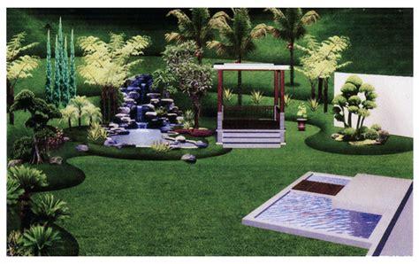 desain taman depan kecil  rumah minimalis