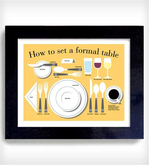 how to set a formal table how to set a formal table print a chore no more setting