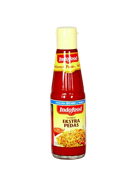 indofood sambal ekstra pedas btl 335 340ml klikindomaret