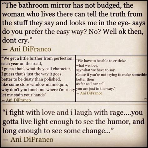 Im To See Ani Difranco by Best 25 Ani Difranco Ideas On Poem
