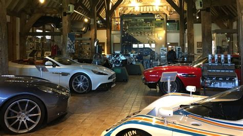 Aston Martin Museum Inside The Aston Martin Heritage Trust The Company S