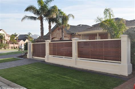 stunning front fence designs for homes images decoration