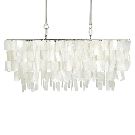 Capiz Chandelier Rectangular Large Rectangle Hanging Capiz Pendant Looks Stunning Tevami