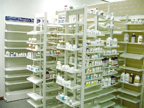 Pharmacy Shelf by Flex Rx Shelving Lozier Store Fixtures Pharmacy Shelving