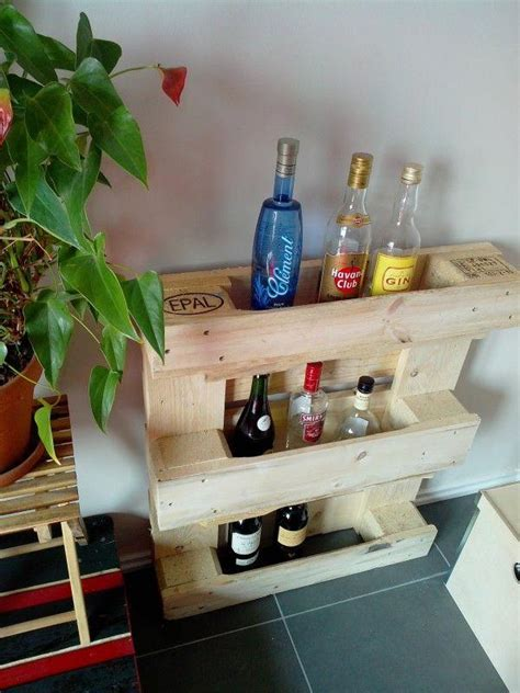 beautiful movable bar  wood pallet wine rack pallets designs