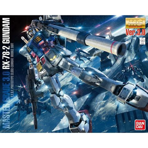 Bandai Gundam Master Grade Kits 1100 Mg Gundam Exia Da Diskon bandai gunpla gundam rx 78 2 ver 3 0 1 100 mg master grade