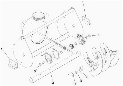 toro snowblower parts diagram toro dingo snowthrower attachment and hydraulic broom