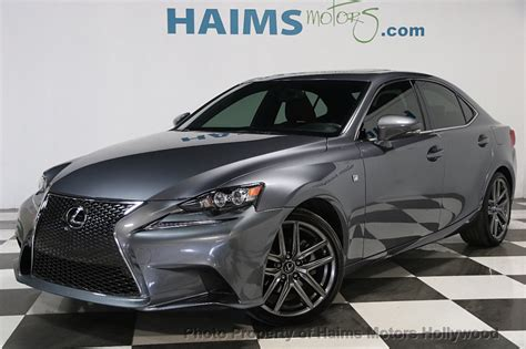 2015 Lexus Is 250 Price by 2015 Used Lexus Is 250 At Haims Motors Ft Lauderdale