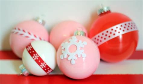 diy ideas make christmas ornaments at home pretty designs