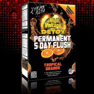 High Voltage Detox Permanent 5 Day Flush Reviews by High Voltage Permanent Flush Blazin Cherry High