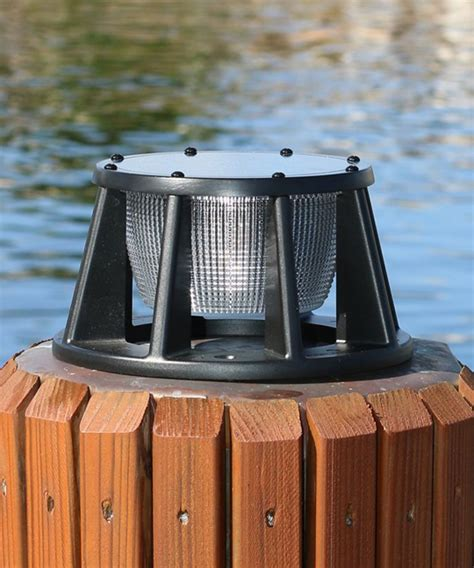 Marine Or Boating Solar Piling Lights Boat Solar Lights