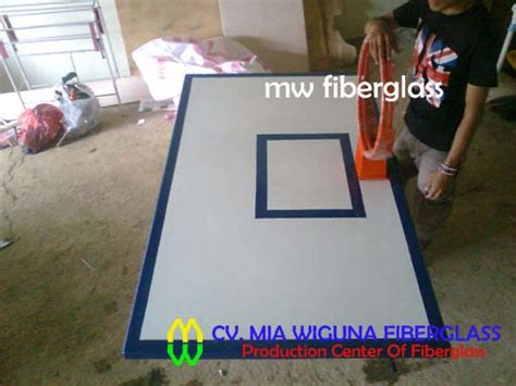 Harga Basket jual papan pantul ring basket cv wiguna fiberglass
