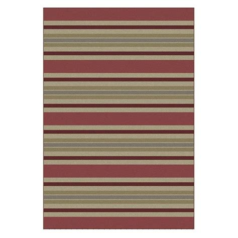 Outdoor Rug 8 X 10 Shop Allen Roth 2017 Outdoor Indoor Outdoor Coastal Area Rug Common 8 X 10 Actual 8 Ft