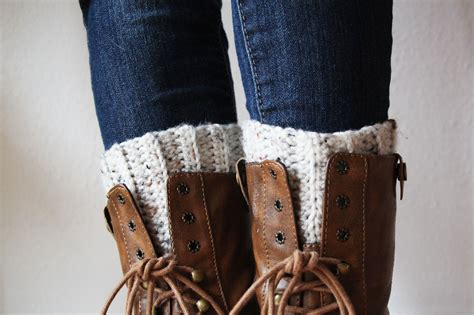 crochet pattern for boot cuffs cute and easy crocheted boot cuffs skip to my lou