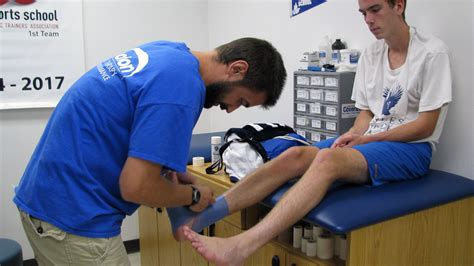 trainer school new athletic trainer digs right in norfolk collegiate school