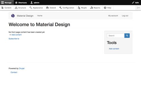 bootstrap templates for drupal 7 how to integrate material design with drupal evolving