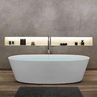 freistehende badewanne corian freistehende badewanne aus corian wandspachtelung