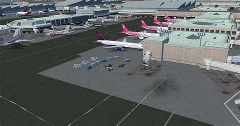 airport design editor update los angeles airport scenery v3 for fsx