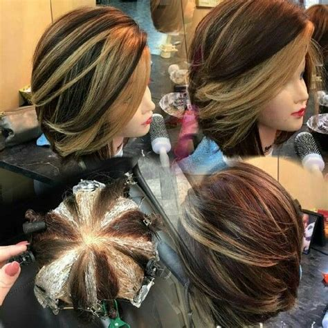 hair color and foil placement techniques maybe someday love and love it on pinterest