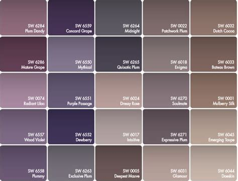 colors that bring out brown best paint color for walls with purple colors that