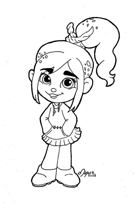 printable coloring pages gt vanellope gt 46950 vanellope coloring pages 3