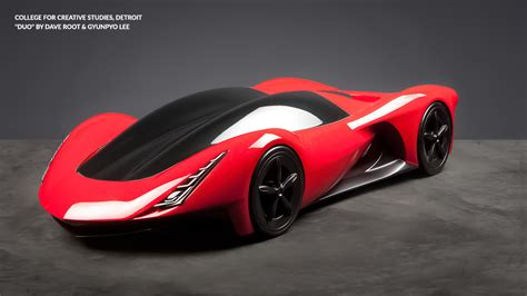 Ferrari Concept by Ferrari Shows Us The Future With Design School Concepts