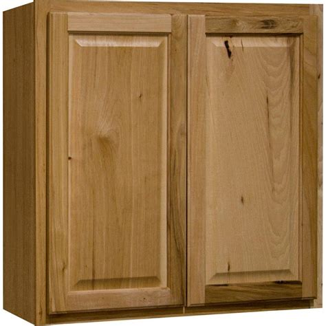 home depot hickory cabinets hton bay hton assembled 30x30x12 in wall kitchen