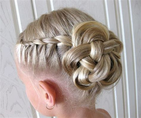 flower girl braided hairstyles for weddings 21 best images about kids hair upstyles on pinterest