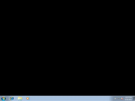 wallpaper black screen windows 7 fix windows 7 starter edition desktop wallpaper turned black