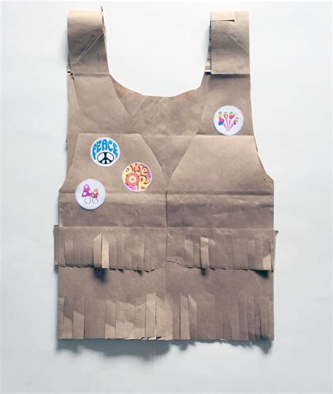 How To Make A Paper Bag Vest - paper bag crafts
