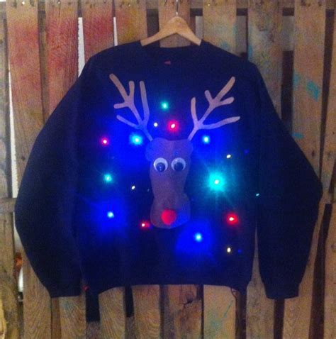 light up christmas quot ugly quot sweater lol christmas ideas