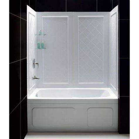 home depot bathtub enclosures bathtub walls surrounds bathtubs the home depot