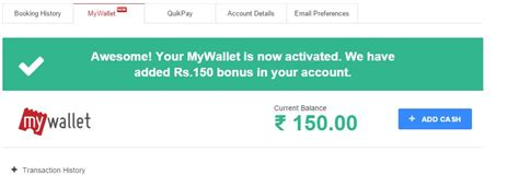 bookmyshow refund expired bookmyshow loot get rs 150 free wallet balance