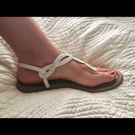 xappeal sandals 64 xappeal shoes white braided t sandals size