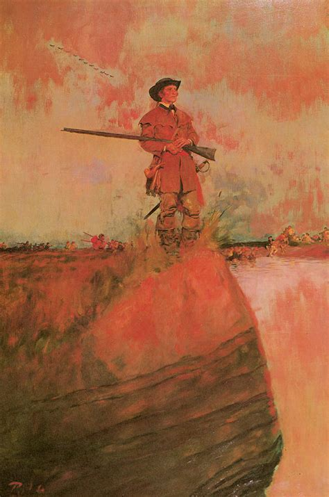 the way back the paintings of george a weymouth a brandywine valley visionary books george rogers clark on his way to kaskaskia painting by