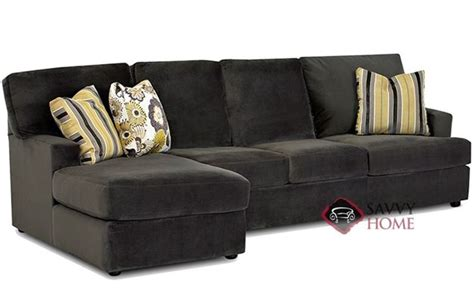 sectional sofas island mercer island fabric stationary chaise sectional by savvy