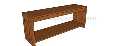 hall bench plans woodworking plans hall bench plans howtospecialist how to build step by