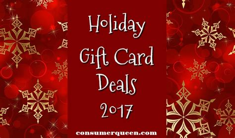 Holiday Gift Card Deals - restaurant more holiday gift card deals 2017
