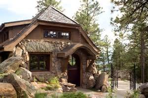 house plans colorado a small stone guest cottage in colorado