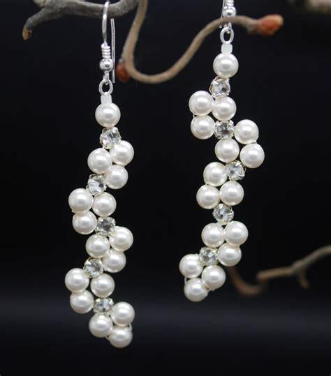 hochzeit ohrringe perlen festlicher brautschmuck perlenschmuck hochzeit
