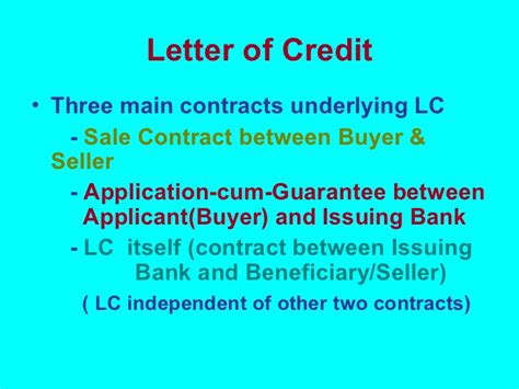 Difference Between Letter Of Credit And Bank Guarantee In Overview Of International Banking Business