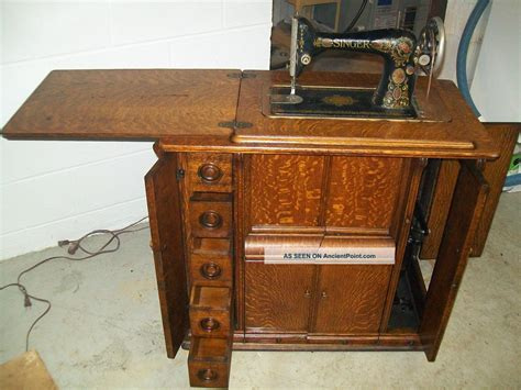 singer sewing machine cabinet styles antique sewing table value image collections bar height