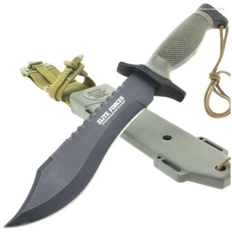 elite forces survival bowie knife bk1535 elite forces survival bowie knife abs lined