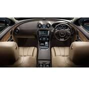 Jaguar XJ Interior Front Dashboard Cashew Seats With