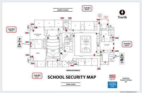Floor Plan Mapping Software building maps school security map sample