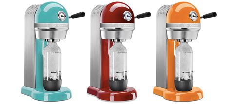 Retro Small Appliances kitchenaid s sodastream machines look transplanted from a