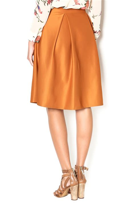 nu new york high waisted pleated skirt from union square