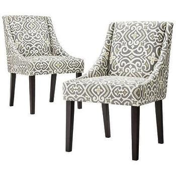 yellow and grey dining chairs yellow floral tufted yellow and gray lydia dining chair