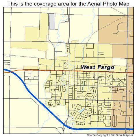 map of fargo nd aerial photography map of west fargo nd dakota