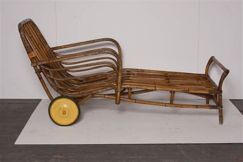 bamboo chaise lounge pair of bamboo chaise lounge chairs omero home